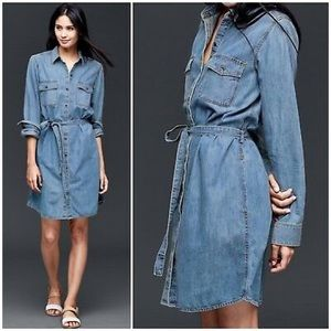 GAP denim shirt dress. Size XL